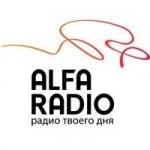 Logo da emissora Alfa Radio 107.6 FM