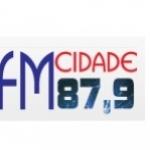 Logo da emissora Rádio FM Cidade 87.9