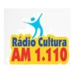 Logo da emissora Rádio Cultura 1110 AM