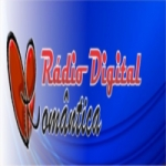 Logo da emissora Rádio Digital Romântica