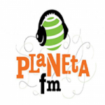 Logo da emissora Rádio Planeta FM