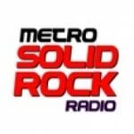 Logo da emissora Metro Solid Rock Radio