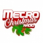 Logo da emissora Metro Christmas Radio