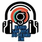 Logo da emissora Rádio São José Do Cedro FM