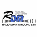 Logo da emissora Radio Donji Miholjac