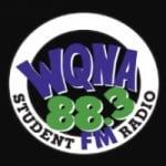 Logo da emissora Radio WQNA 88.3 FM