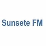 Logo da emissora Sunsete FM