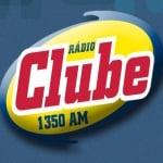 Logo da emissora Rádio Clube 1350 AM