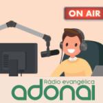 Logo da emissora Rádio Evangélica Adonai