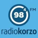 Logo da emissora Radio Korzo 98.4 FM