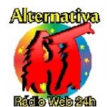 Logo da emissora Alternativa Rádio Web
