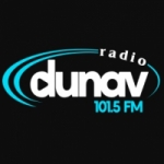 Logo da emissora Radio Dunav 101.5 FM