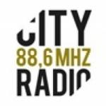 Logo da emissora City Radio 88.6 FM