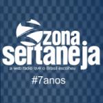 Logo da emissora Zona Sertaneja