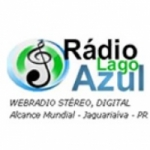 Logo da emissora Rádio Lago Azul