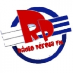 Logo da emissora Rádio Perola FM