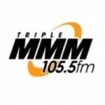 Logo da emissora WMMM Triple M 105.5 FM