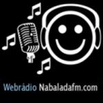 Logo da emissora Rádio Na Balada FM