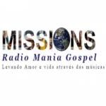 Logo da emissora Rádio Mania Gospel