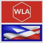Logo da emissora Wla Rádio