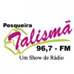 Logo da emissora Rádio Talismã 96.7 FM