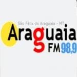 Logo da emissora Rádio Araguaia 98.9 FM