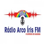 Logo da emissora Rádio Arco Iris 105.9 FM