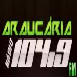 Logo da emissora Rádio Araucária 104.9 FM