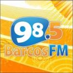Logo da emissora Rádio Barcos 98.5 FM