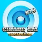 Logo da emissora Rádio Cidade 99.3 FM