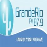 Logo da emissora Rádio Grande Rio 87.9 FM