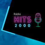 Logo da emissora Rádio Hits 2000