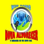 Logo da emissora Rádio Nova Alvorecer