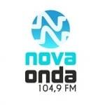 Logo da emissora Rádio Nova Onda 104.9 FM