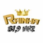 Logo da emissora Rádio Rainha 87.9 FM