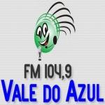 Logo da emissora Rádio Vale do Azul 104.9 FM
