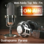 Logo da emissora Rádio Top Mix FM