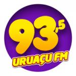 Logo da emissora Rádio Uruaçu 93.5 FM
