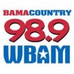 Logo da emissora WBAM 98.9 FM Bama Country