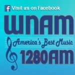 Logo da emissora WNAM 1280 AM