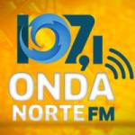 Logo da emissora Rádio Onda Norte 107.1 FM