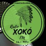 Logo da emissora Rádio Xokó FM