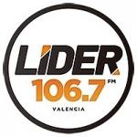 Logo da emissora Radio Lider 106.7 FM