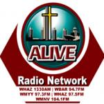 Logo da emissora WBAR 94.7 FM