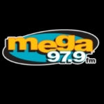 Logo da emissora La Mega 97.9 FM