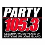 Logo da emissora Party Radio 105.3 FM