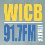 Logo da emissora WICB 91.7 FM