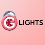 Logo da emissora Rádio G Lights