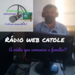 Logo da emissora Rádio Web Catole