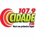 Logo da emissora Rádio Cidade 107.9 FM